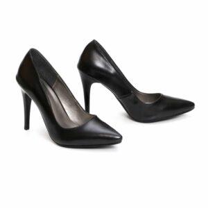 נעל עקב/סינדרלה/9874 – שחור